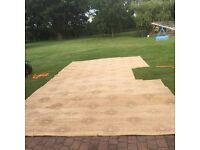 Axminster carpet in ex con 24ft by 10ft