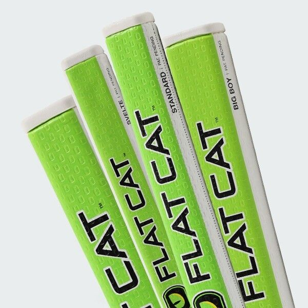 NEW FLAT CAT Putter Grip. Choose Size. FLATCAT Golf