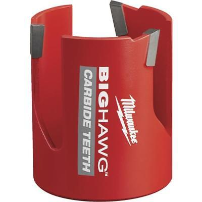 10 Pk Milwaukee High-performance Big Hawg 2-14 In. Dia. Carbide-tipped Hole Saw