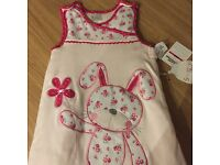 Brand new with tags beautiful sleeping bag 6-12 months