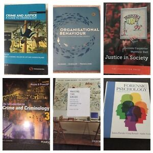 **UNI-BOOK BUNDLE** First Year Justice Books S-1&2 ($373 savings) Wooloowin Brisbane North East Preview
