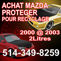 Achat Mazda Protege pour recyclage