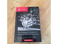 The routledge companion to strategic Human Resources management - special edition