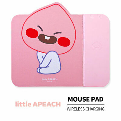 [Kakao Friends] High Speed Wireless Charger Pad Mouse Pad_Apeach / korea