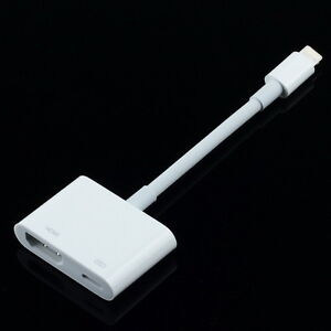 iphone 5 hdmi adapter 8pin to hdmi adapter hdtv av cable sync for iphone 5s 5 6 14524