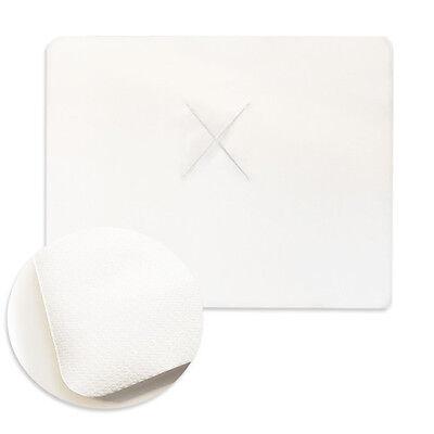 100er-Pack XL Massage-Gesichtsauflage Nasenschlitztücher Auflage Einweg 40x50cm
