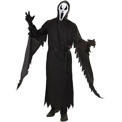 Kostüm SCHREIENDER GEIST M (50) Halloween Herren Horrorkostüm Ghost  Scream