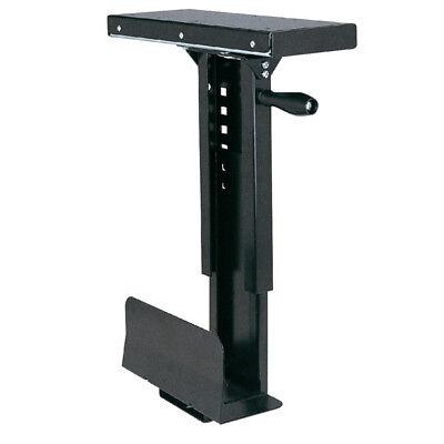 Schwarzes Ausziehbares (Roline CPU Halter / PC-Halter ausziehbar, drehbar, schwarz / CS-11D)