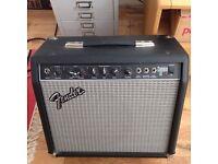 Fender Champ guitar amplifier.