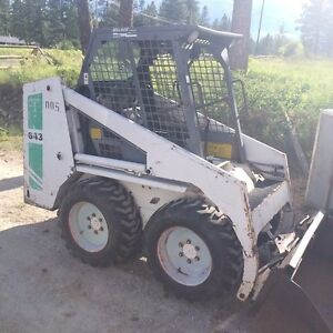 643 bobcat smooth &tooth bucket and forks might look at trades