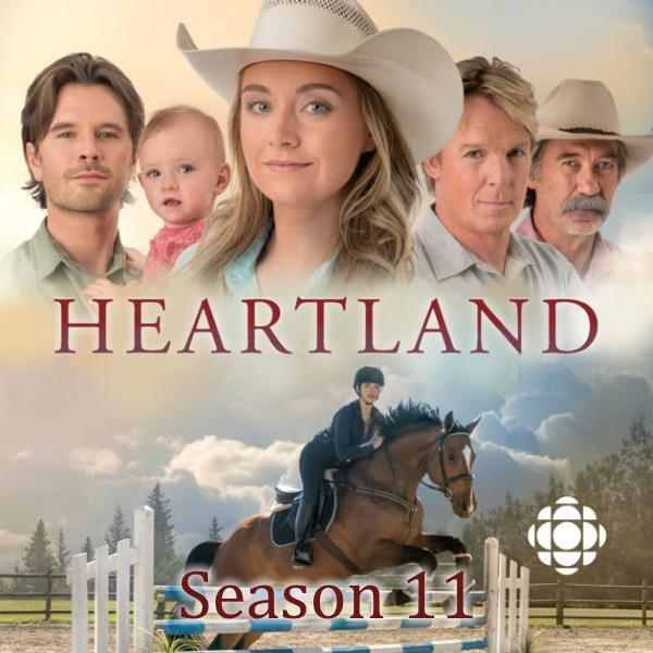 Heartland: Season 11 [DVD Box Set, English, Region 1, 5-Disc Amber Marshall] NEW