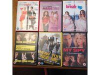 10 rom com DVDs for 10! DVD bundle!