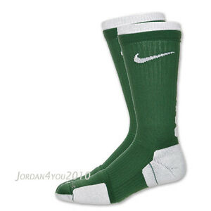 NEW Nike Elite 2 Layer Dri-FIT High Crew Basketball Socks SX4584-345 Men's XL