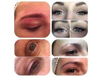 Semi permanent make up and lashes