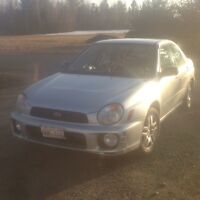 2003 Subaru 2.5Rs Impreza (Fresh MVI, Plate Stickers & Tires)