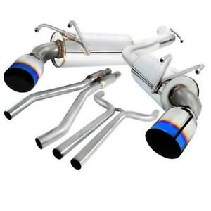 2010-2015 CHEVROLET CAMARO Catback Exhaust System With Burnt Tip