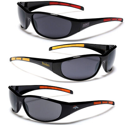 NFL National Football League Official Team Logo Sport Sunglasses Pick Your (Your Logo On Sunglasses)