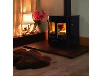 Charnwood SLX45 Free-Standing Multifuel Stove with Back Boiler - Black - Save £600 on listed price!
