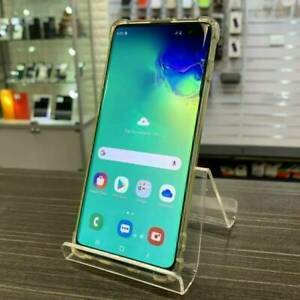 Galaxy S10 Plus 128G Green GOOD COND. INVOICE WARRANTY UNLOCKED Ashmore Gold Coast City Preview