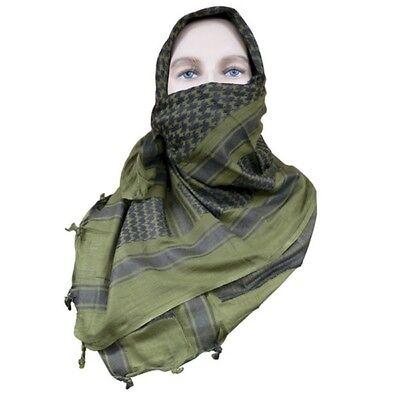 Tru Spec 3742000 Shemagh Desert Scarf OD Green/Black