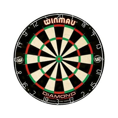 Winmau Diamond Plus Advanced Level Dynamic Wire Design Bristle Dartboard Darts
