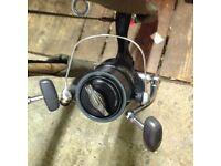 2 Shimano XTA medium long cast reels