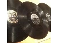 3 Rock n roll 78's Bill Haley, Everly Brothers