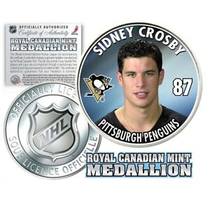 05/06 Sidney Crosby Royal Canadian Mint Medallion