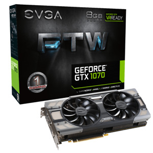 EVGA GTX 1070 FTW - with box and receipt