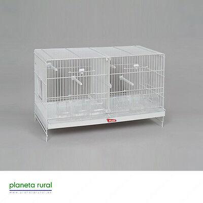 Jaula de Cría para Pájaros 60cm Pedros Nova Blanca