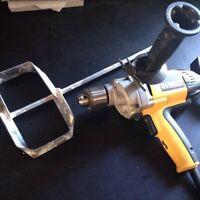 Dewalt 1/2 drill & mixer