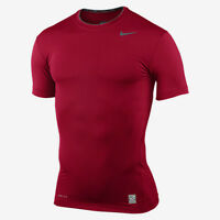 nike pro combat core fitted t-shirt