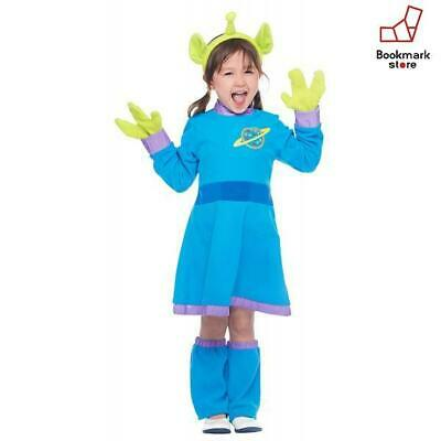 New Disney Toy Story Alien Kids Costume Girl S 100cm-120cm F/S from Japan