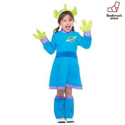 New Disney Toy Story Alien Kids Costume Girl S 100cm-120cm F/S from Japan