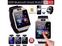 Bluetooth DZ09 Smart Watch For Android HTC Samsung iPhone iOS + Camera SIM