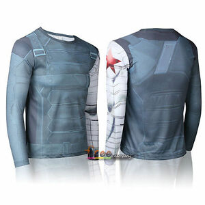LONG SLEEVE DRY-FIT SHIRT - WINTER SOLDIER