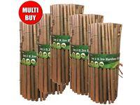 Bamboo Edging - Brand New - 5 Rolls