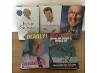 "5 great ""reads"" Hardback Autobiographies"