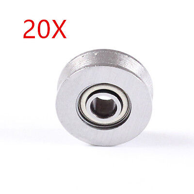 20pcs 623vv V Groove Sealed Ball Bearings Vgroove 3 X 12 X 4mm Free Shipping