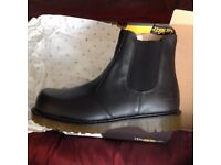 Dr martens steel toe work boots uk10 bnib