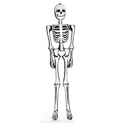 6 foot Inflatable Skeleton Halloween Pool Party October Spooky Decoration ZHSKEL - Halloween Pool Decorations