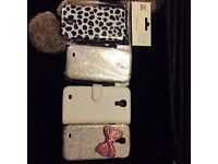 Samsung s4 cases. 3 brand new. £2 for all