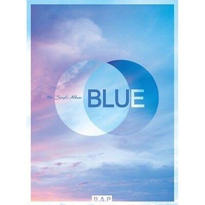 B.A.P[Blue] 7th Single Album B. CD+Poster+Booklet+PhotoCard+S.Gift Honeymoon BAP