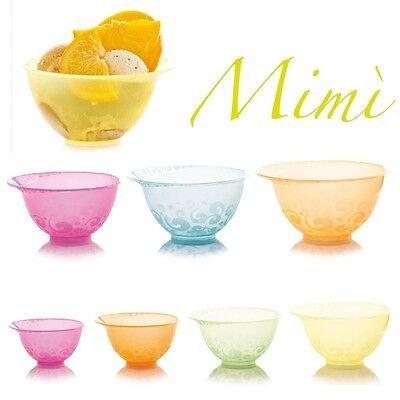 50 Neon Farbige Eisbecher aus Kunststoff Coppa Mimi 350ml - Farbwahl nach Wunsch