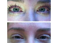 LVL lashes on Special OFFER -£30 HD Brows -£20
