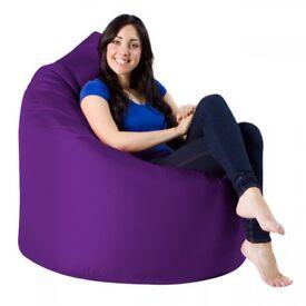 Beanbag X-Large Indoor Outdoor New Purple HALF PRICE