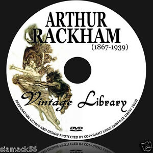 ARTHUR-RACKHAM-1200-Illustrations-41-Vintage-Fairy-Tale-Books-PDF-on-DVD-image