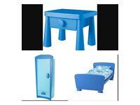 Ikea mammut bed set