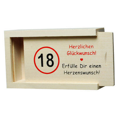Geldkiste aus Holz Geschenkverpackung für Geld verschiedene Anlässe