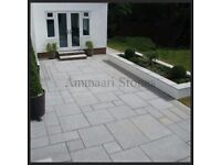 Granite Silver Grey Patio Paving | 20mm, 900x600mm | 17.28m² Pack £445 *FREE NATIONWIDE DELIVERY*